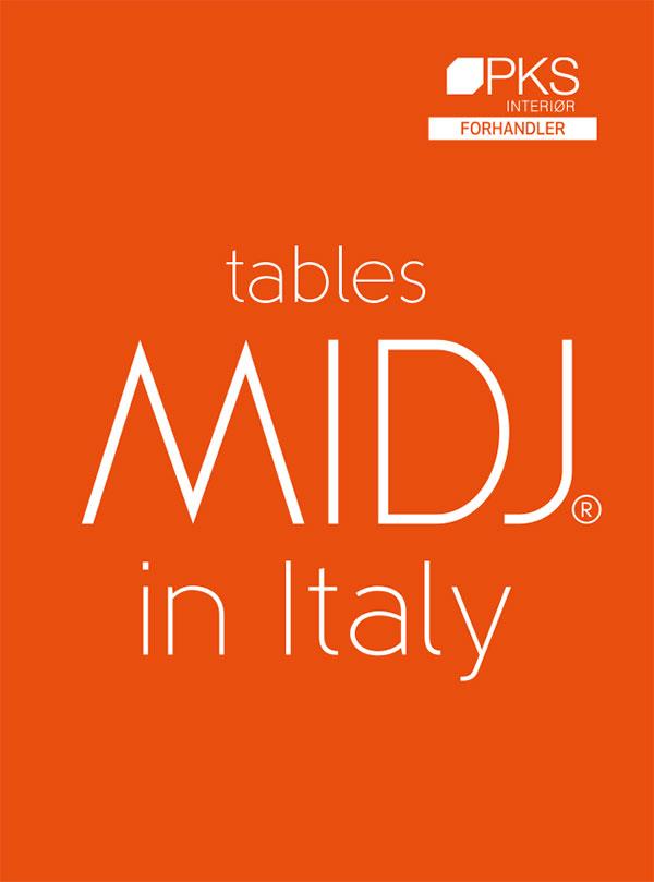 Midj moderne komplette bord fra Sitting Scandinavia