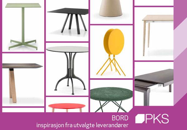 inspirasjon og et utvalg moderne komplette bord fra Sitting Scandinavia