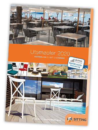 Utemøbler for hotel, restaurant, cafe og pub fra Sitting Scandinavia