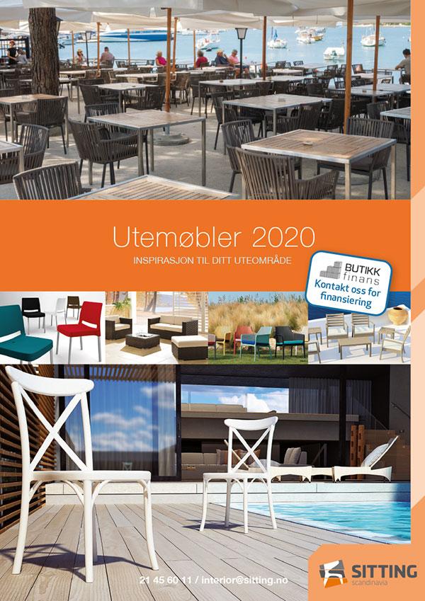 Barbord for utendørs bruk (utemøbler) fra Sitting Scandinavia